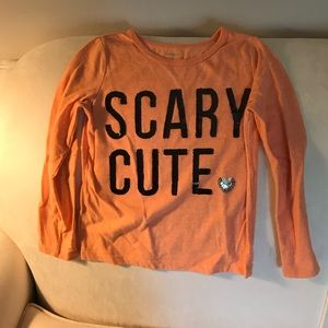 Carters scary cute Halloween shirt. Size 5